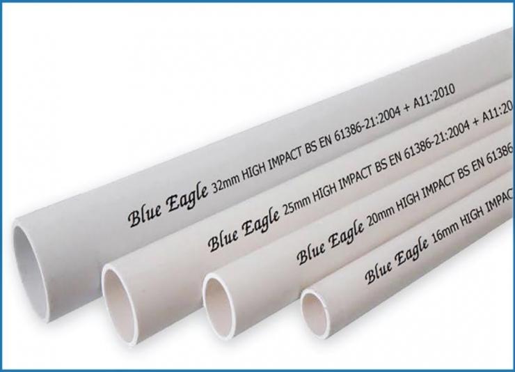Ống thép luồn dây điện Blue Eagle Thái Lan